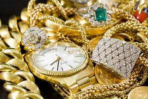 ACHETONS L'OR---MONTRES---DIAMANTS--WE BAY GOLD AND WATCHS,