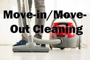 FLAT FEE for Move-in/Move-out Cleaning