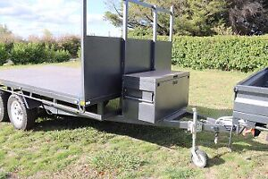 Table Top Trailer - Heavy duty & over engineered *BRAND NEW*
