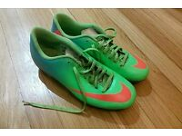 Nike Mercurial Size 7.5 Football Boots