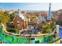 Return flight to Barcelona