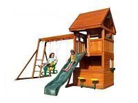 Kids garden climbing frame RRP£649