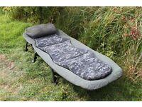 Nash Mk3 Indulgence Bedchair (carp/night fishing bed)