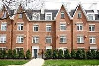 2 Bedroom Townhouse Yonge and Eglinton Includes Parking