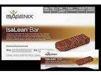 ISAGENIX IsaLean™ Bars - Chocolate Decadence Box 650g (10 Bars x 65g)