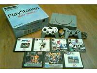 PS1 PlayStation Console and Games