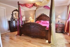 Beautiful master bed room set ( all inclusive)