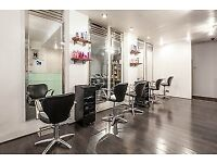 Salon chair available for rent in Islington salon -with existing client base included!