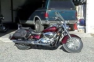Honda Shadow 750 in search of new home!