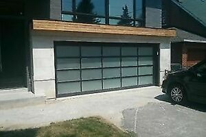 Contemporary Aluminum garage doors *BEST PRICE* - FREE QUOTE