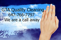 GTA QUALITY CLEANING $25/h