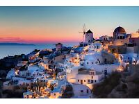 Holiday for 2 to Santorini, Greece. Monday 16th - Friday 20th April 2018.