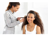 Hair stylists with experience in European or Afro hair.