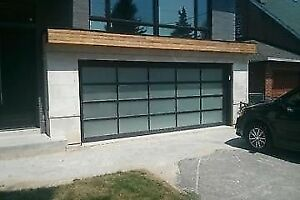 Contemporary Aluminum garage doors *BEST PRICE* - FREE QUOTE*