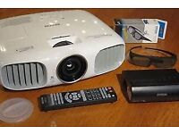 EPSON TW6100W 1080P 3D WIRELESS PROJECTOR INCLUDING REMOTE