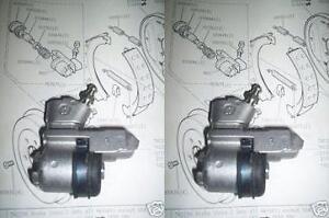 (x2) AUSTIN A50 A55 A60 Cambridge   REAR BRAKE WHEEL BRAKE CYLINDERS (1956- 71)