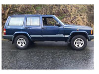 Jeep Cherokee 2.5 TD, 5 Speed Manual, 4X4, XJ Series