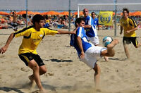Play beach-soccer in Montreal!