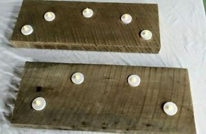 RECLAIMED BARN BOARD CANDLE HOLDERS London Ontario image 2