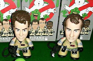 "Ghostbusters Titans 3"" mini vinyls"