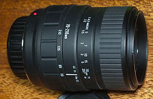 Objectif SIGMA 70-210mm pour Canon EF