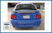 Mustang Bumper Letters