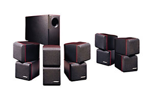 Bose Acoustimass 10 Home theater system(5 double cube+ subwoofer