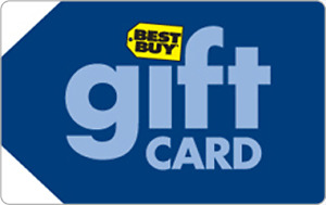 50$ best buy gift card for 40$
