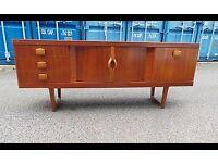 Mid Century Retro Danish Style Teak Stonehill Sideboard Stateroom 07989088223