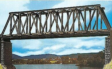 Vollmer 7801 Large Truss Bridge Kit