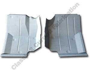 1976-96 Jeep CJ7 CJ8 & YJ Wrangler Front Floor Pan PAIR