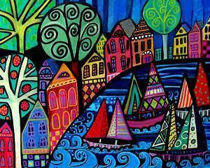 Folk Art Prints | eBay