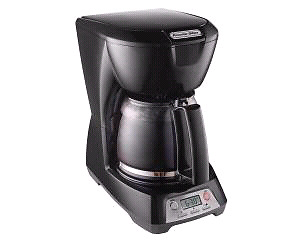 Programmable 12 Cup Coffee Maker (black)