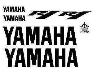 yamaha r6 aufkleber ebay. Black Bedroom Furniture Sets. Home Design Ideas
