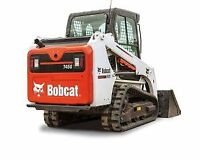 "FOR RENT T450 BOBCAT TRACK LOADER C/W 50"" SMOOTH BUCKET"