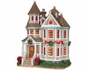 vintage lighted christmas house - Lighted Christmas Houses