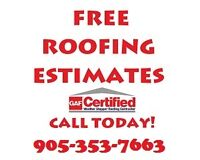 BOOK YOUR FREE ROOF ESTIMATE TODAY