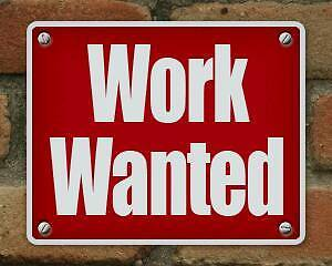 LOOKING FOR WORK