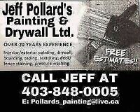 Experienced Painter and drywaller *10%off*