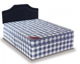 Brand New 4FT6 Double Light Quilt Bed Set ( Base & Mattress) With Fast Delivery...