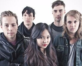 NAKED AND FAMOUS - DOWNSTAIRS STANDING - O2 FORUM - TUES 14/02 - £35!