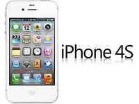 Apple iPhone 4S 8GB Smartphone unlocked (white/Black)