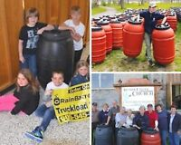 Raise Money for Your Local Cause With Rain Barrels