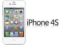 Apple iPhone 4S 8GB Smartphone unlocked (white/Black)