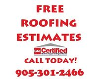 ROOF INSTALLATIONS and REPAIRS
