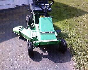 Lawnboy (new seat)