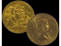 Wanted Gold Coins, Sovereign, Kruggerand, Scrap Gold for Private Collector