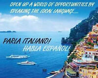 SPANISH OR ITALIAN - Private & Group lessons!