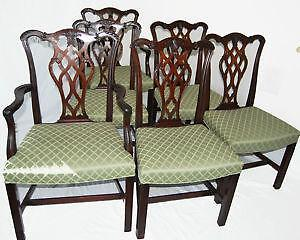 35 Set Id Reupholster Antique Dining Room Chairs