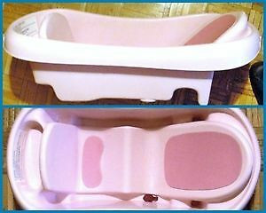 The First Years Pink Baby Bathtub